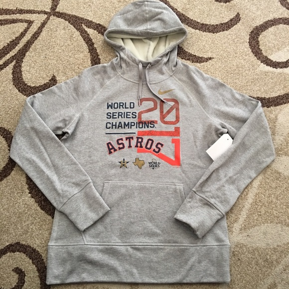 super popular ec74c fca23 Nike Houston Astros World Series Pullover Hoodie NWT